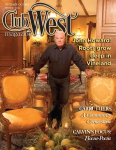 ClubWest Cover Page Sept 4