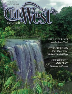 May June ClubWest front cover